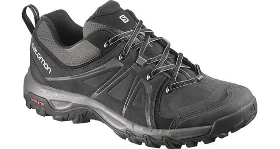 Salomon Evasion LTR Hiking Shoes Men black/autobahn/pewter